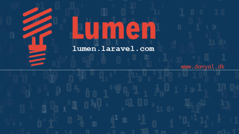 Lumen authentication API – Full Stack Programmer